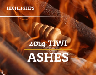 Tiwi Ashes 2014 banner