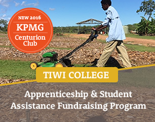 Tiwi College Apprenticeship and Student Assistance Fundraising Program
