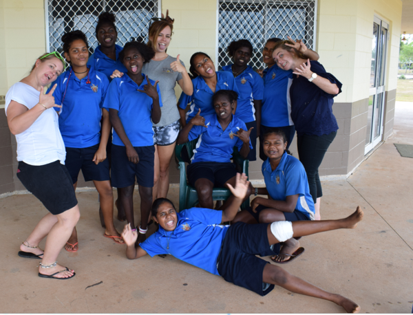 Hannah Quade_Tiwi College Adventure