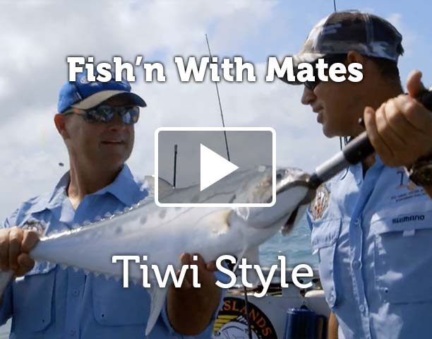 Matthew Hayden on Fishing with Mates