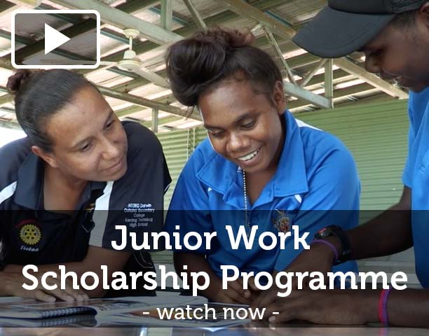 Tiwi Garden Shimano junior work scholarship Donations
