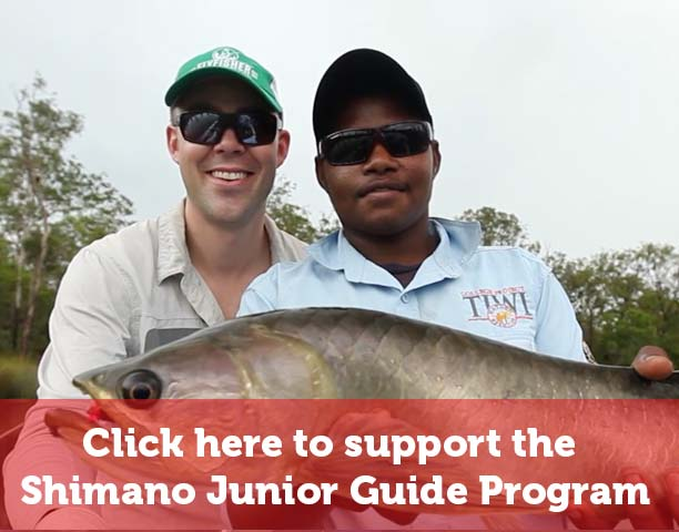 Donate to the Shimano Junior Guide Program